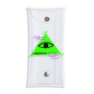 発光ミッドくん Clear Multipurpose Case
