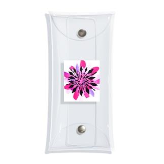 ドラゴンフルーツの花 Clear Multipurpose Case