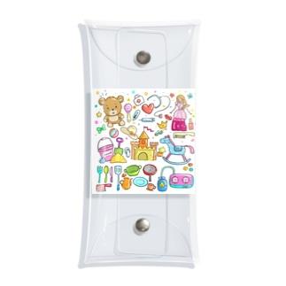 TK-marketのキッズ Tシャツ Clear Multipurpose Case