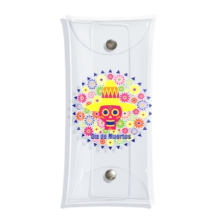 Day of the dead Clear Multipurpose Case
