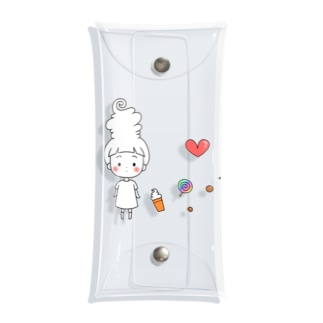 ancolyのソフ・トクリム Clear Multipurpose Case