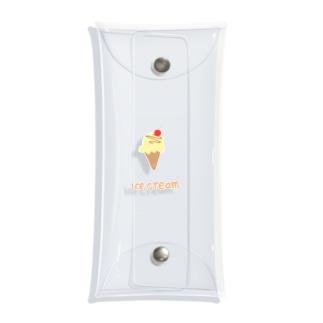 ice cream Clear Multipurpose Case