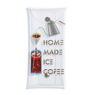 Slow Typingの自家製アイスコーヒー 淡色用 197-1 Clear Multipurpose Case