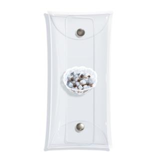 みつ豆 Clear Multipurpose Case