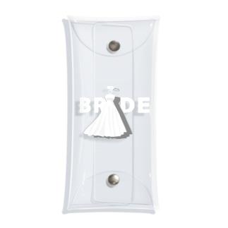 ペア(BRIDE)ドレス_白_FW Clear Multipurpose Case