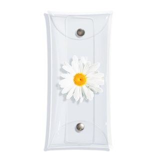 daisy flower Clear Multipurpose Case