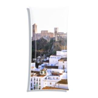 スペイン:丘の上の村カサレスの遠望 Spain: Casares  (Cásares) Clear Multipurpose Case