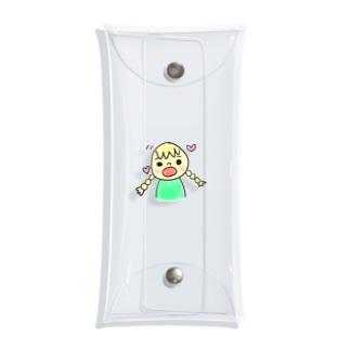 サリーちゃん Clear Multipurpose Case