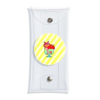 トロピカルジュース Clear Multipurpose Case