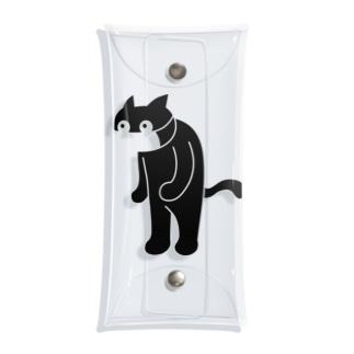 さくおた猫背 Clear Multipurpose Case