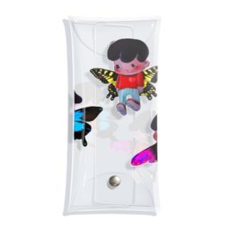 3人の妖精 Clear Multipurpose Case