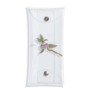 みずみずしいいきもの〈ブルーベリー(花)〉 Clear Multipurpose Case