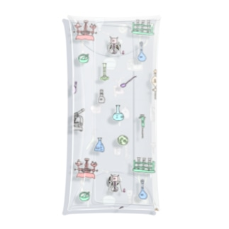 実験器具のかわいさを広めよう! Clear Multipurpose Case