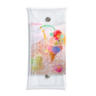 Bear Gummy Parfeit(candy beige ver.) Clear Multipurpose Case