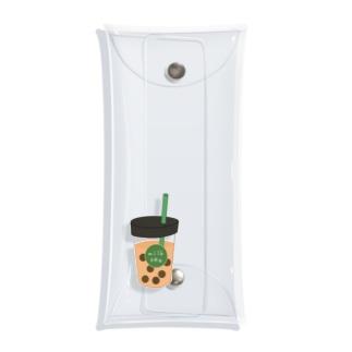 タピオカミルクティー Clear Multipurpose Case