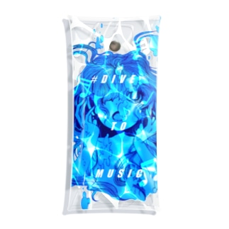 DIVE to MUSIC Clear Multipurpose Case