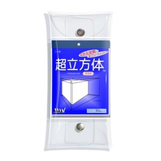 超立方体マスク Clear Multipurpose Case
