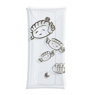 羽根つき餃子 Clear Multipurpose Case