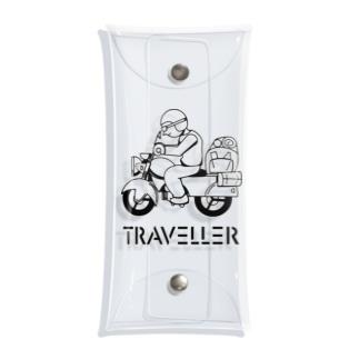 TRAVELLER トラベラー 222 Clear Multipurpose Case