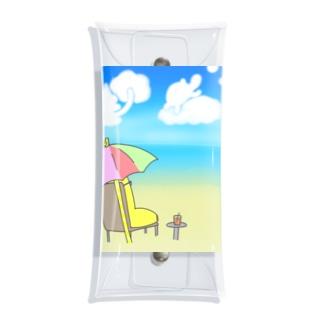 ばななさんの夏 Clear Multipurpose Case