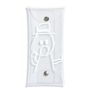 白いDJTOC Clear Multipurpose Case