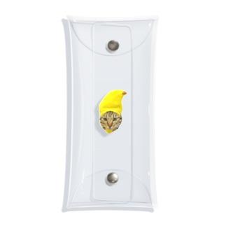 バナナこちょら Clear Multipurpose Case