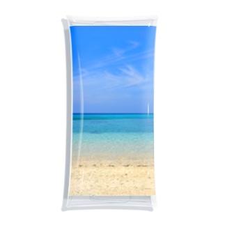 secret blue Clear Multipurpose Case
