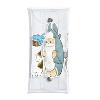 サメ図鑑 Clear Multipurpose Case
