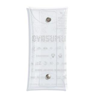 ジョシュ☪︎のDiGiTAL-OYASUMU.white Clear Multipurpose Case