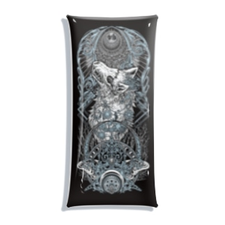 BLACKINK のTAROT - THE MOON. Clear Multipurpose Case