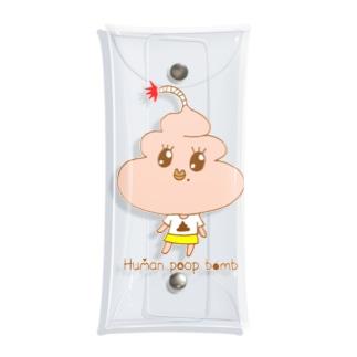 ぷっぷちゃん1 Clear Multipurpose Case