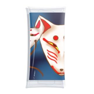 狐面 Clear Multipurpose Case