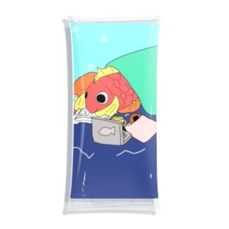 ごろごろし鯛(たい)01(完全版)-ごろ鯛(たい) Clear Multipurpose Case