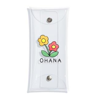お花 Clear Multipurpose Case