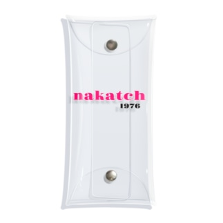 nakatchロゴ商品 Clear Multipurpose Case