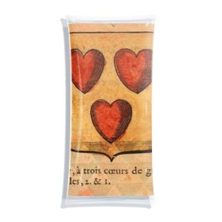 フランスの紋章 Clear Multipurpose Case