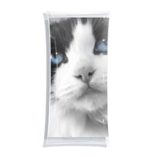 Mimi-blue eyes  Clear Multipurpose Case