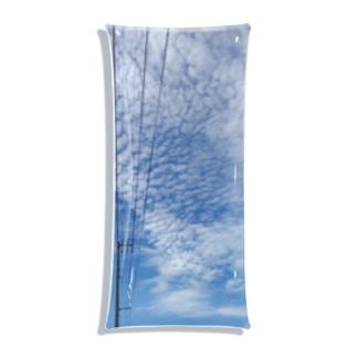 雲。 Clear Multipurpose Case