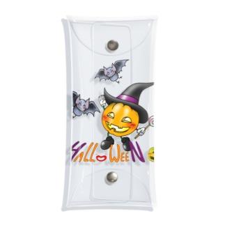 はっぴーはろうぃん・かぼちゃ君 Clear Multipurpose Case