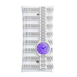 腕時計(藤巴紋) Clear Multipurpose Case