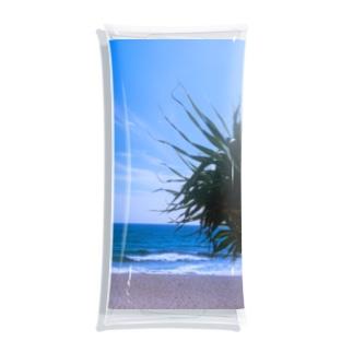 beachside Clear Multipurpose Case