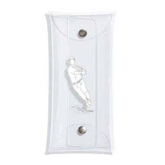 Baseball player〜スローイング〜 Clear Multipurpose Case