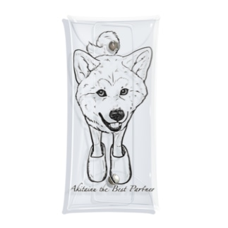 Akitainu is the best partner Clear Multipurpose Case