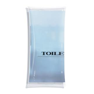 toilet Clear Multipurpose Case