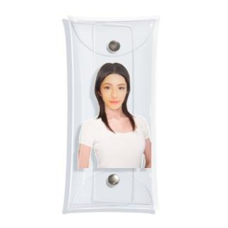 あたい葵(Aoi Atai) Clear Multipurpose Case