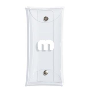 Mechuロゴ(白) Clear Multipurpose Case