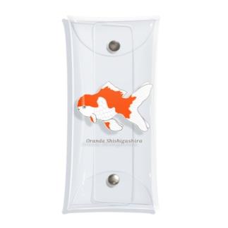 すぎ屋のオランダシシガシラ Clear Multipurpose Case