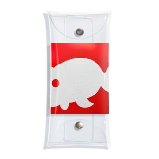 金魚一道オリジナル Clear Multipurpose Case