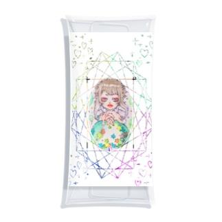 星集め Clear Multipurpose Case