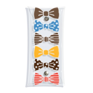 ribbon brown Clear Multipurpose Case
